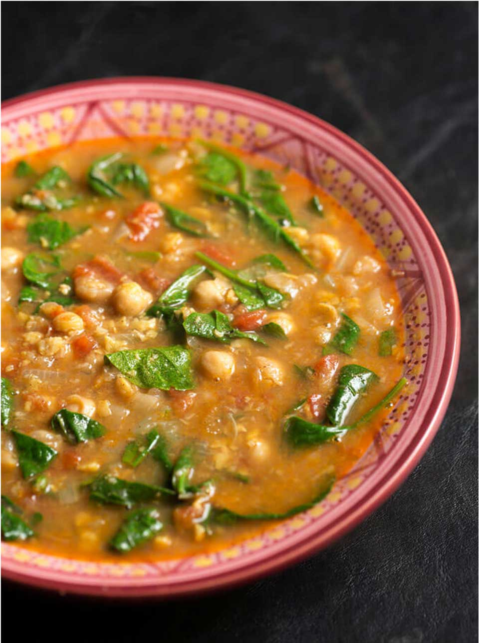 Stews can be veggie-loaded, and we bet you won't even miss the meat! Check out this Instant Pot Moroccan Chickpea Stew from Sandy at Simply Happy Foodie, and then be sure to peek at our whole list of yummy, healthier stews, plus tips and tricks!