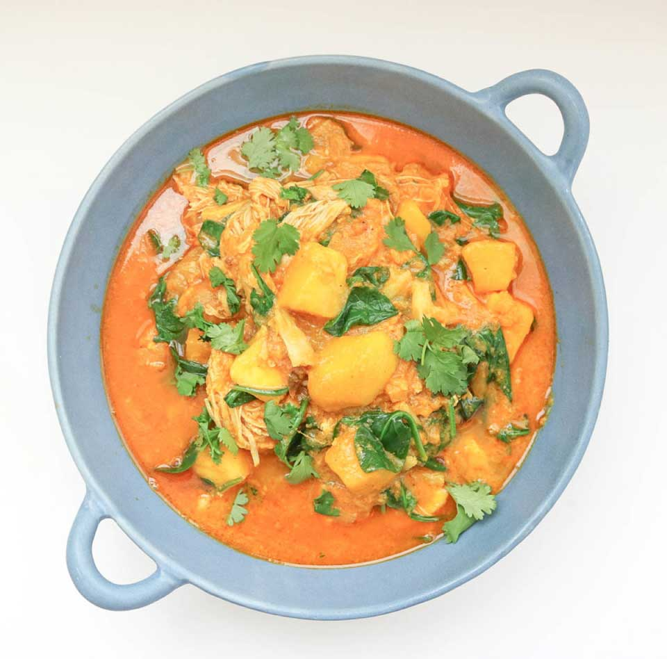 Love chicken dinners? We've got 20 for you to choose from – including this Mango Chicken Curry from Leslie-Anne at From Pasta to Paleo. Bonus: they're all extra-fast and easy, thanks to your electric pressure cooker!