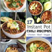 17 Instant Pot Chili Recipes