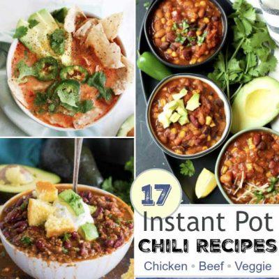 17 Instant Pot Chili Recipes