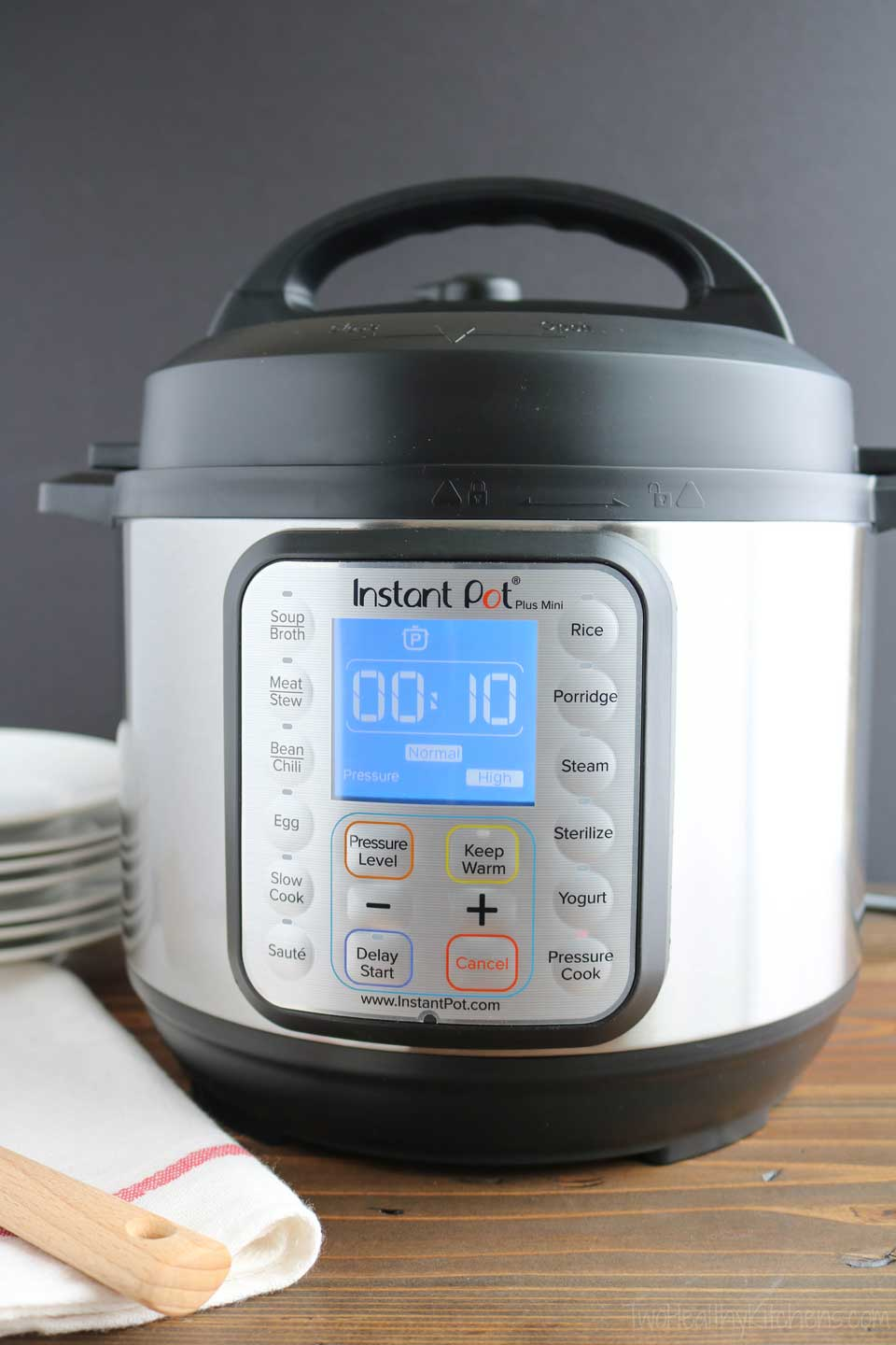 Wondering just what you can cook in your Instant Pot – what works really well and what doesn't? We've got lots of ideas to help you figure out just what all you CAN do with an Instant Pot, and what types of food you can cook in an Instant Pot. Because there are lots of recipes that electric slow cookers like the Instant Pot do really well, but some they don't – and it's helpful to know the difference! | #InstantPot #pressurecooker #pressurecooking #slowcooker | www.TwoHealthyKitchens.com