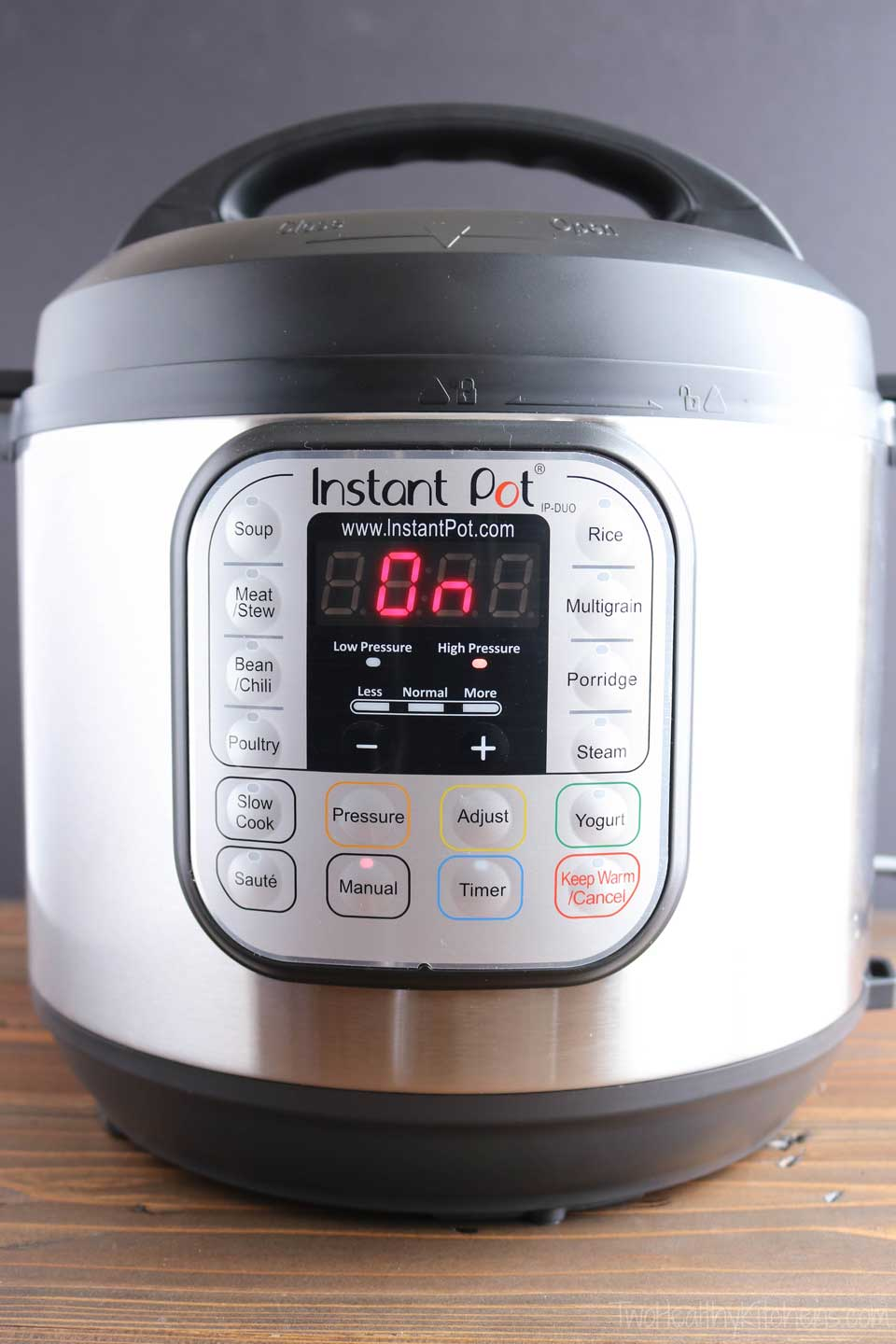 The Instant Pot Duo60 is probably the most popular of all the instant Pot models.