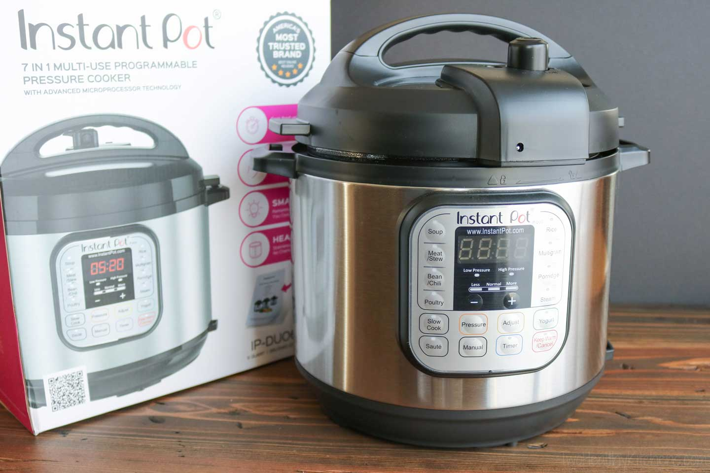 "I chose the Duo60 6-quart model for my own family. Which Instant Pot is the best for you and your family? Which one should you buy? I'm here to help with a ""buyer's guide"" assembled fro the research that went into my own purchases."