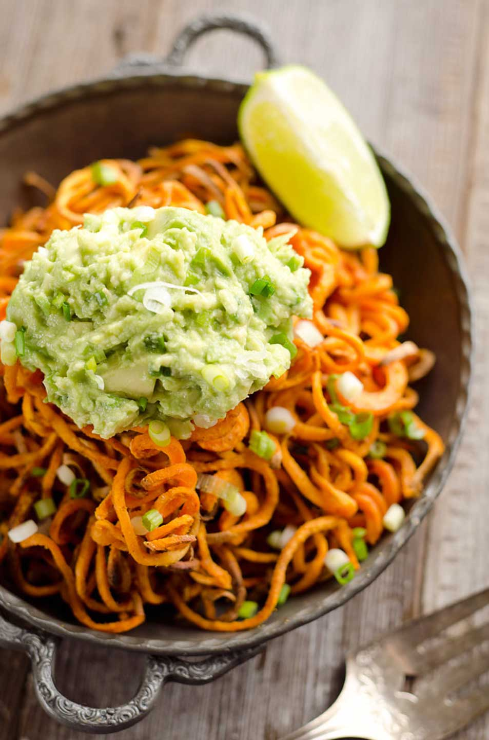 33 spiralizer recipes (that aren't zoodles) - two healthy