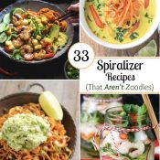33 Spiralizer Recipes (That AREN'T Zoodles)