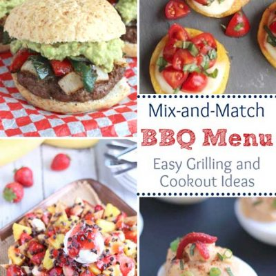 Mix-and-Match Easy BBQ Menu Ideas