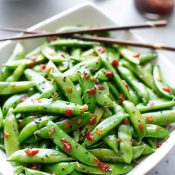 5-Minute Asian Sugar Snap Peas