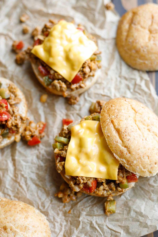 Easy Cheeseburger Sloppy Joes Recipe