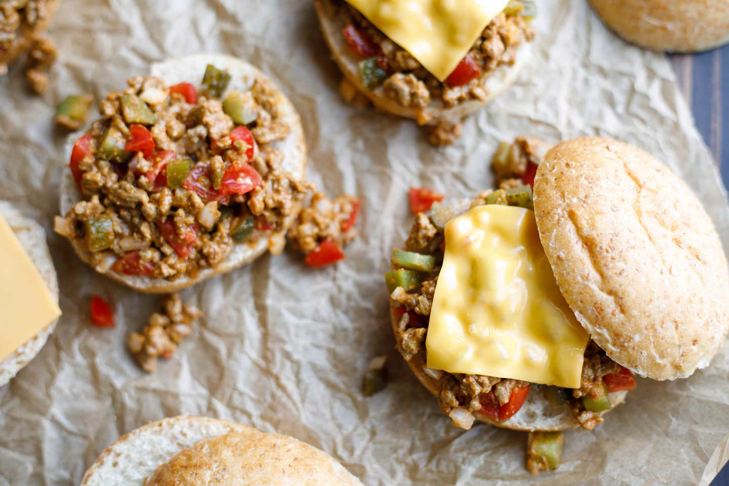 Cheeseburger Sloppy Joes in Just 15 Minutes!