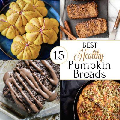 15 Best Healthy Pumpkin Bread Recipes