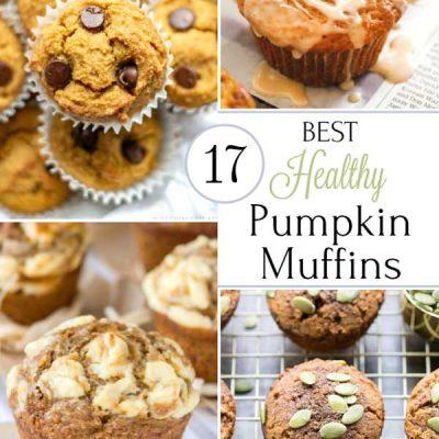 17 Best Healthy Pumpkin Muffins