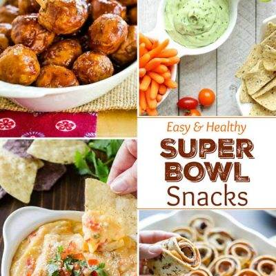 27 Easy, Healthy Super Bowl Snacks