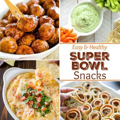 27 Easy, Healthy Super Bowl Snacks
