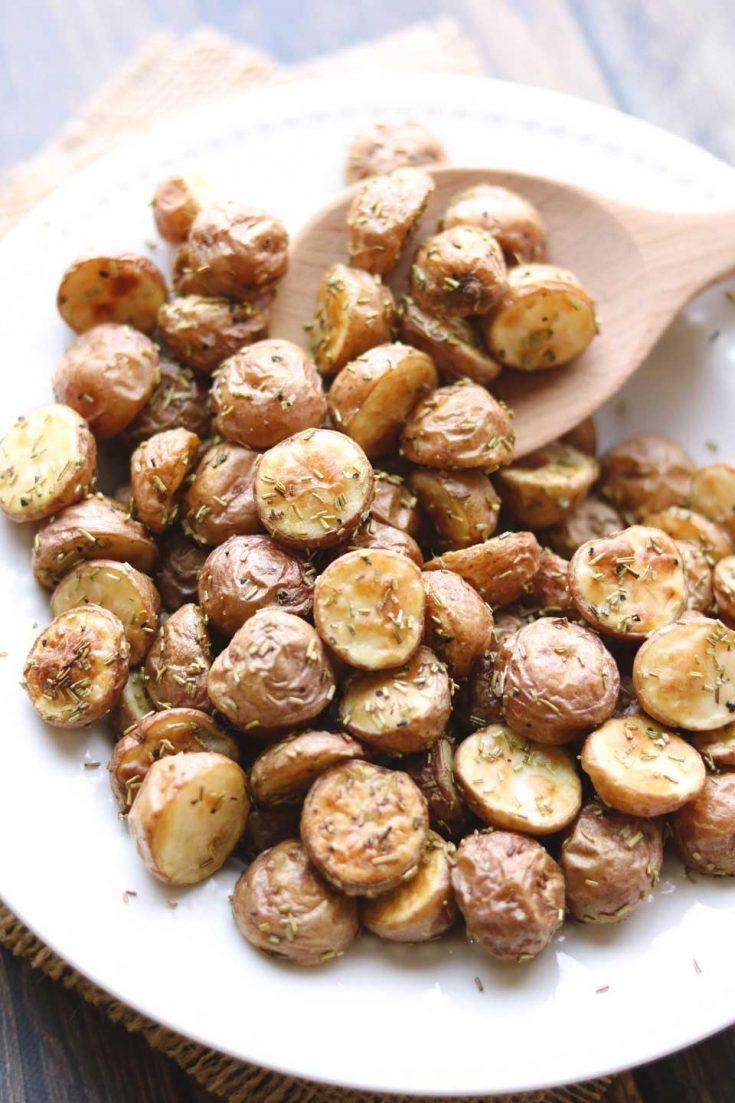 #8 Easy Rosemary Roasted Potatoes