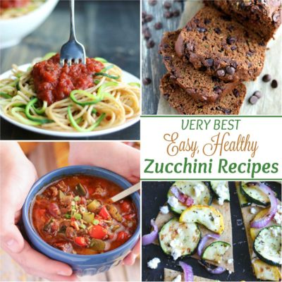 Our Best Healthy, Easy Zucchini Recipes