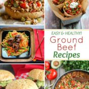 Easy, Healthy Ground Beef Recipes