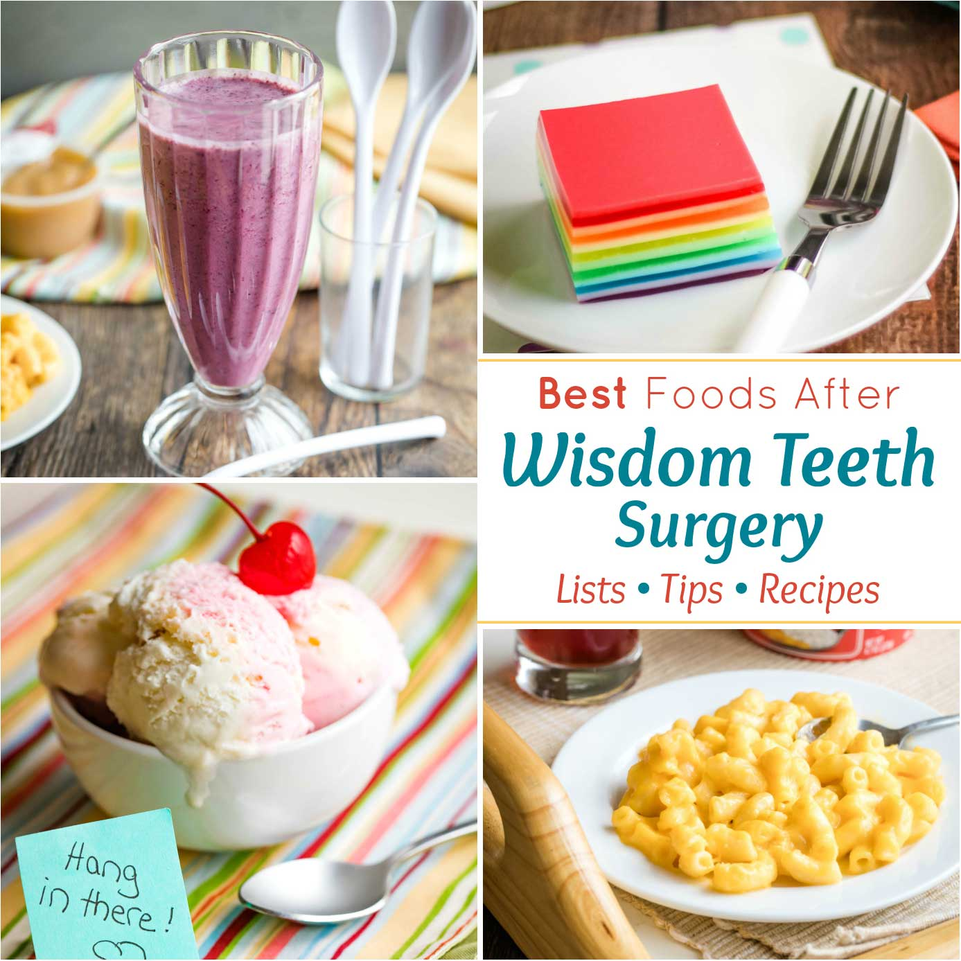 What Can I Eat After Wisdom Teeth Removal? - Two Healthy Kitchens