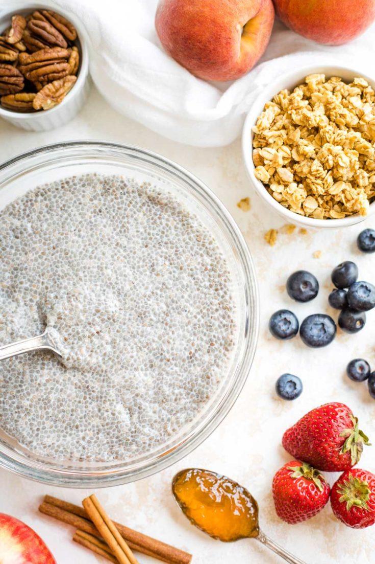 #5 Easy Chia Seed Pudding Recipe