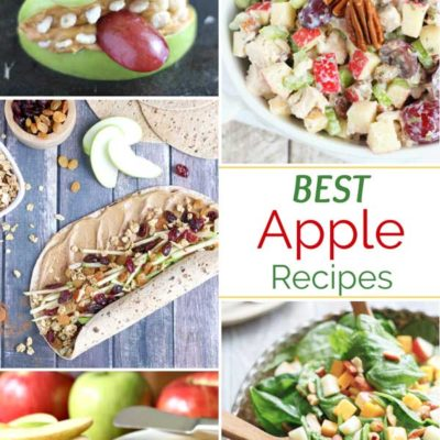 12 Best Easy, Healthy Apple Recipes