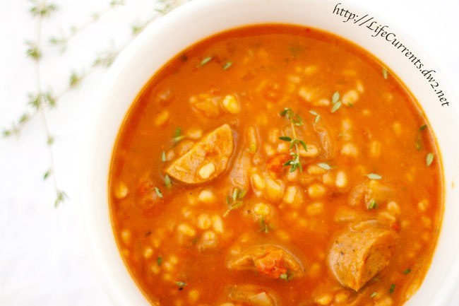 Pumpkin Barley Soup