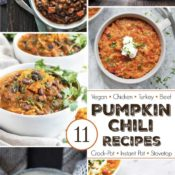 11 Easy Pumpkin Chili Recipes