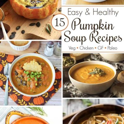 15 Easy Pumpkin Soup Recipes