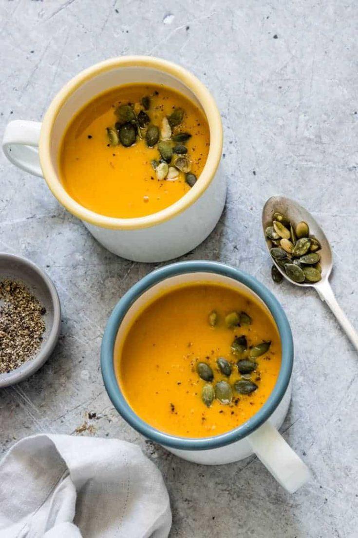 Vegan Instant Pot Pumpkin Soup