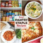 Healthy, Easy Pantry Staples Recipes