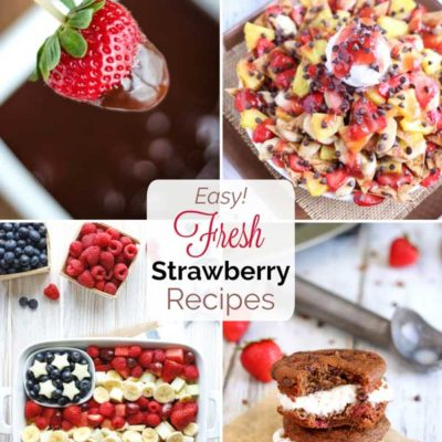 Fresh Strawberry Recipes
