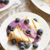 Blueberry-Lemon Angel Food Cake Recipe