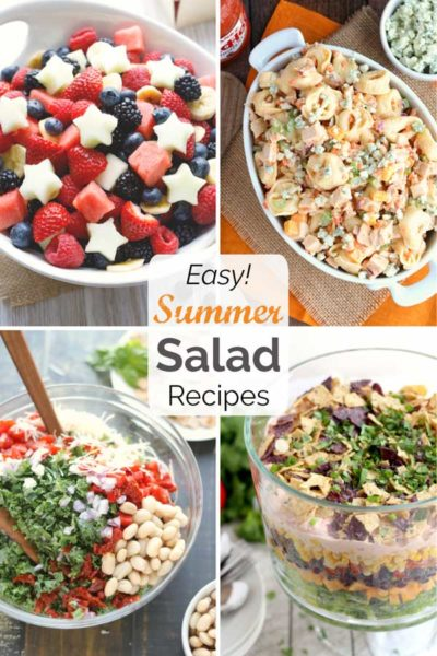 18 Easy Summer Salad Recipes