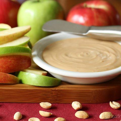 Peanut Butter Silk Pie Dip with Greek Yogurt