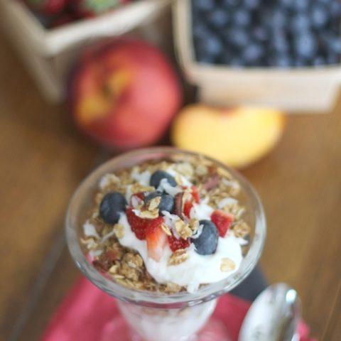 Healthy Yogurt Parfait Party Snacks
