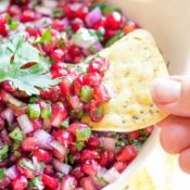 5-Minute Pomegranate Salsa