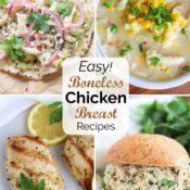 30+ Boneless Chicken Breast Recipes