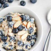 Easy Blueberry Overnight Oats