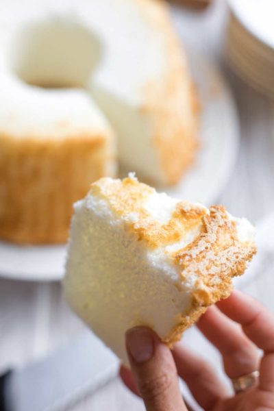 How to Cut Angel Food Cake (Without Smashing It)