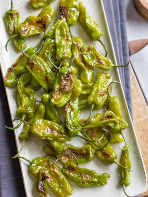 Blistered Shishito Peppers Recipe